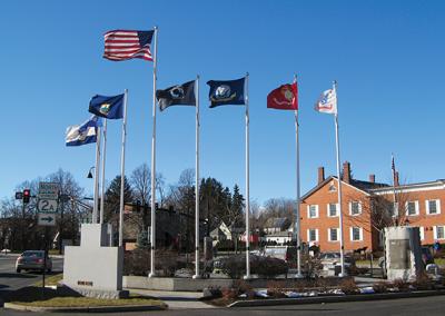 Veterans Park at Five Corners