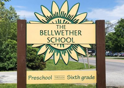 The Bellwether School Sign