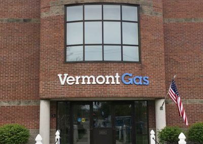Vermont Gas sign