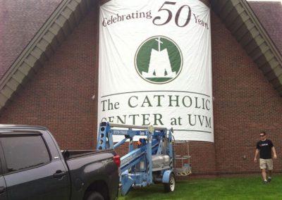 Catholic Center at UVM Banner