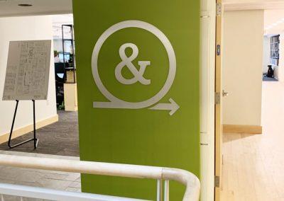3D Interior Signage