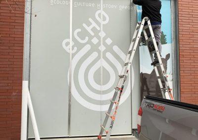 Echo Sign Installation