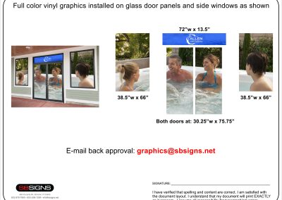 Door and Window Vinyl Design