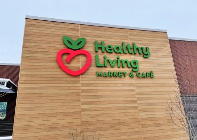 Grocery Store Exterior Signage