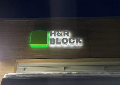 H&R Block Outdoor Signage