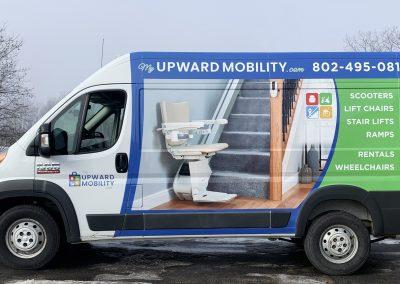 My Upward Mobility Vehicle Wrap