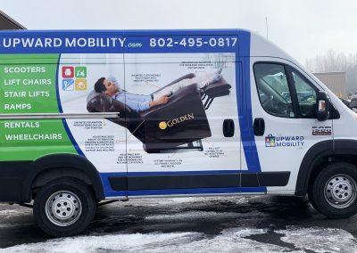 My Upward Mobility Van Wrap