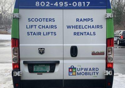 My Upward Mobility Van Graphics