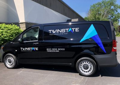 Twin State Van Graphics