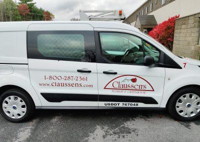 Claussen's Van Graphics