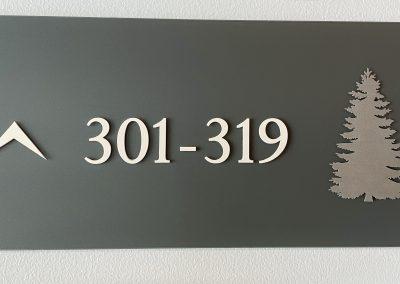 Custom Raised Room Signs