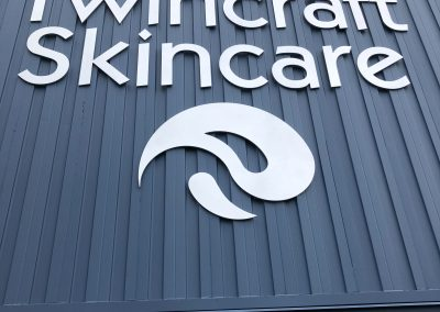 Twincraft Skincare Exterior Signage