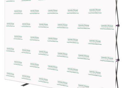 Custom Fabric Backwall Display
