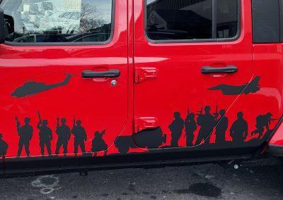 Army Graphics on Gladiator