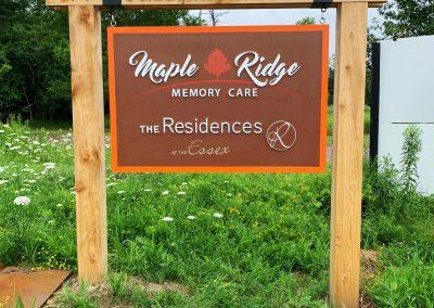 Maple Ridge SIgnage