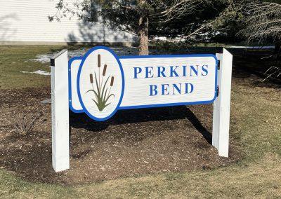 Perkins Bend Custom Commercial Signage