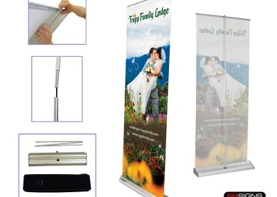 Custom Retractable Banners with Stand