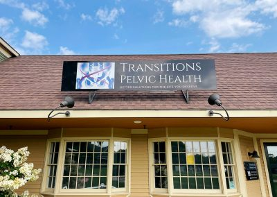 Transitions Pelvic Health Sign, Shelburne, Vermont